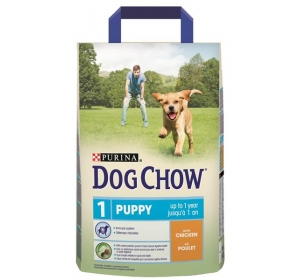 Purina Dog Chow Puppy Chicken+Rice 2,5kg