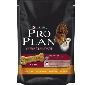 Purina Pro Plan Biscuits Chicken+Rice 400g