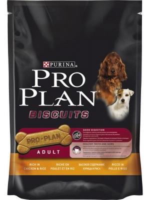 Purina Pro Plan Biscuits Chicken+Rice 400g
