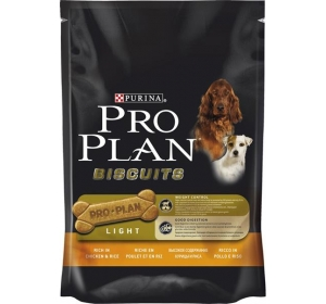 Purina Pro Plan Biscuits Light Chicken+Rice 400 g