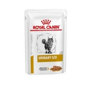 Royal Canin VD Cat kaps. Urinary S/O paštika 12x85g