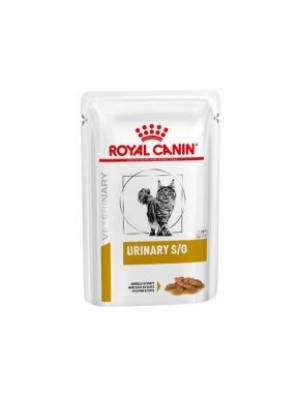Royal Canin VD Cat kaps. Urinary S/O paštika 12x85g