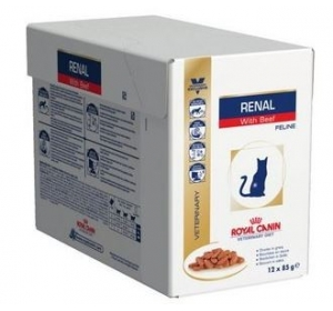 Royal Canin VD Cat kaps. Renal beef 12x85g