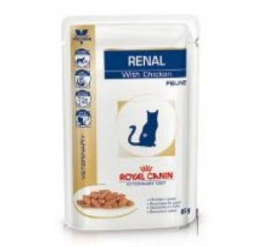 Royal Canin VD Cat kaps. Renal chicken 85g