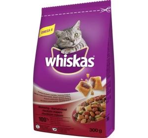 Whiskas dry - hovězí 300g
