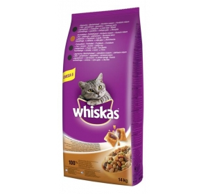 Whiskas dry - kuře 14 kg