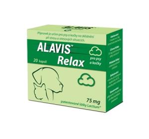 Alavis Relax 75mg pro psy a kočky cps 20