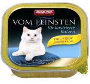 Animonda VomFeinsten cat van. Kastrát - krůta, sýr 100 g