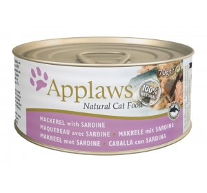Applaws Cat konz. makrela a sardinky 70 g