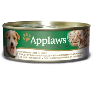 Applaws Dog konz. JELLY kuře s jehněčím masem v želé 156 g