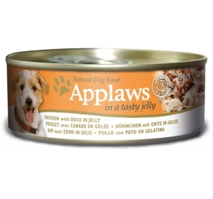 Applaws Dog konz. JELLY kuře s kachním masem v želé 156 g