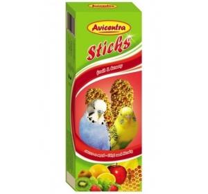 Avicentra tyč andulka - ovoce a med 2 ks