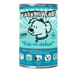 BARKING HEADS Fish n Delish konz. 400g