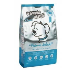 BARKING HEADS Professional Fish Grain Free 18kg