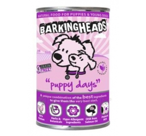BARKING HEADS Puppy Days konz. 400g