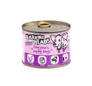 BARKING HEADS Tiny Paws Puppy Days konz. 200g