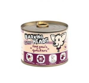 BARKING HEADS Tiny Paws Quackers konz. 200g