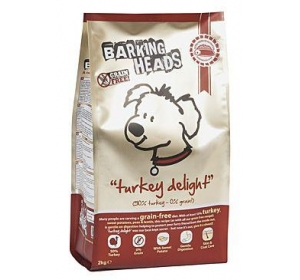 BARKING HEADS Turkey Delight Grain Free 12kg