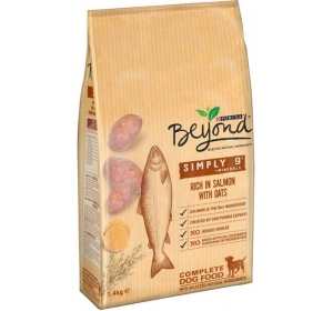 BEYOND Dog s lososem,ovsem a sladkými brambory 1,4 kg