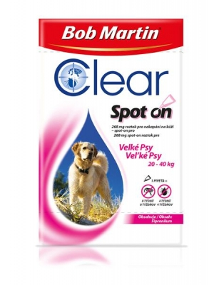 Bob Martin Clear spot on DOG XL 402mg a.u.v. sol 1x 4,02ml