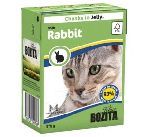 Bozita Cat kousky v želé s králíkem Tetrapak 370g