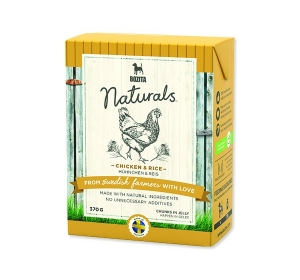 Bozita Dog Naturals Big Chicken Rice Kuře Tetrap. 370g