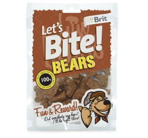 Brit Care DOG Let´s Bite Bears 150 g