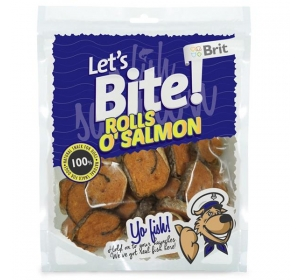 Brit Care DOG Let´s Bite Rolls o´Salmon 400 g