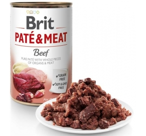 Brit Paté & Meat konz. Beef 400 g