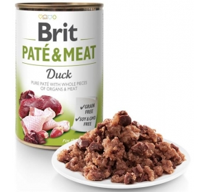 Brit Paté & Meat konz. Duck 400 g