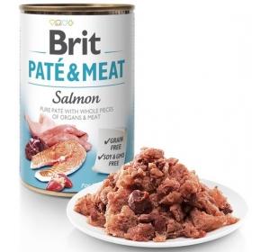 Brit Paté & Meat konz. Salmon 400 g