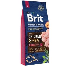 Brit Premium by Nature Dog Junior L 15 kg