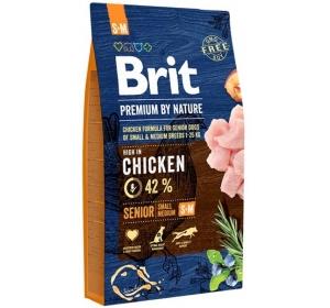 Brit Premium by Nature Dog Senior S+M 8 kg