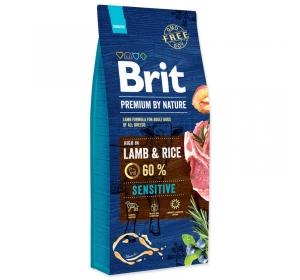 Brit Premium by Nature Dog Sensitive Lamb 15kg