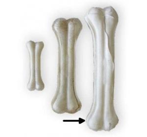 Buvolí kost bílá Tenesco 22 cm