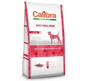 Calibra Dog GF Adult Small Breed Duck 2 kg