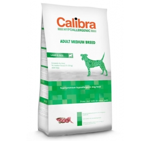 Calibra Dog HA Adult Medium Breed Lamb 3 kg