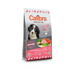 Calibra Dog Premium Junior Large 12 kg