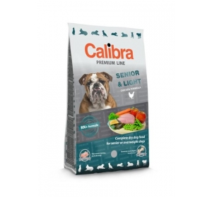 Calibra Dog Premium Senior & Light 12 kg