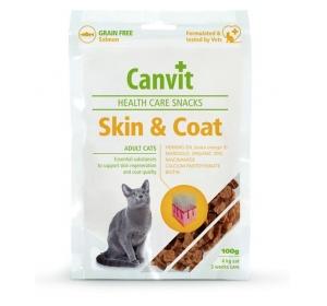 Canvit snack cat Skin & Coat 100 g