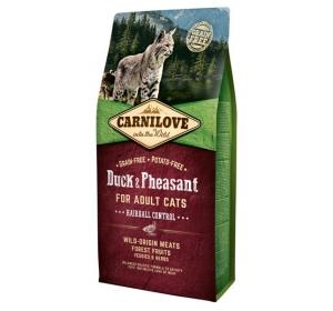 Carnilove Cat Duck&Pheasant Grain Free 6 kg