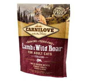 Carnilove Cat Lamb&Wild Boar Grain Free 0,4 kg
