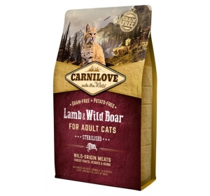 Carnilove Cat Lamb&Wild Boar Grain Free 2 kg