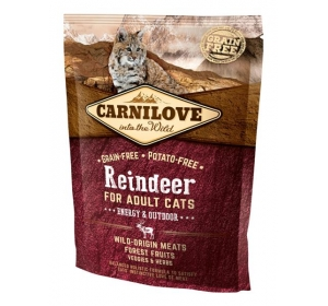 Carnilove Cat Reindeer Grain Free 0,4 kg