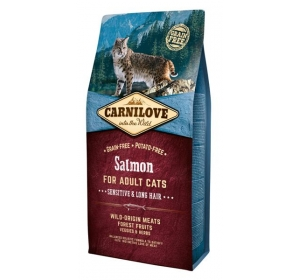 Carnilove Cat Salmon Grain Free 6 kg