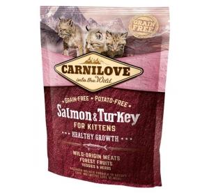 Carnilove Cat Salmon&Turkey for Kittens Grain Free 0,4 kg