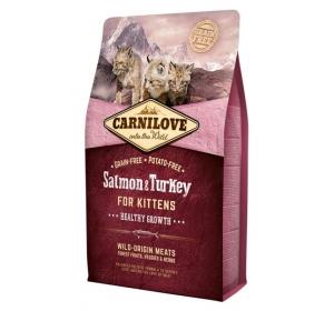 Carnilove Cat Salmon&Turkey for Kittens Grain Free 2 kg