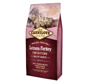 Carnilove Cat Salmon&Turkey for Kittens Grain Free 6 kg