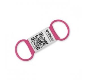 Chytrá známka QR PetTag Symbio růžová