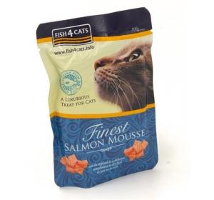 Fish4Cats kaps. - Finest Salmon Mousse 100g